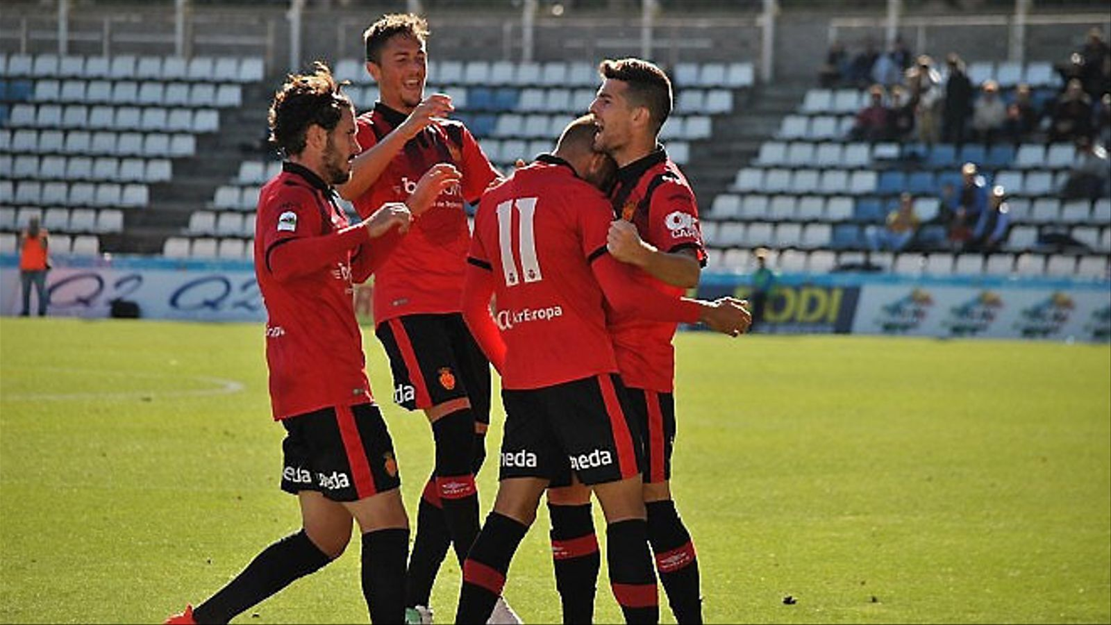 El Mallorca va obtenir una victòria de prestigi davant el Lleida la setmana passada.