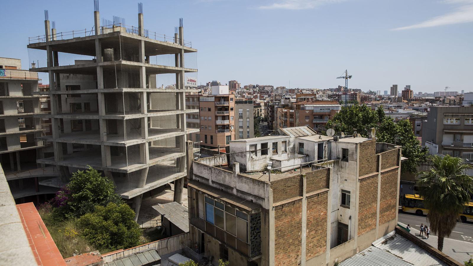 Santa Coloma aturarà les obres del centre històric durant sis mesos