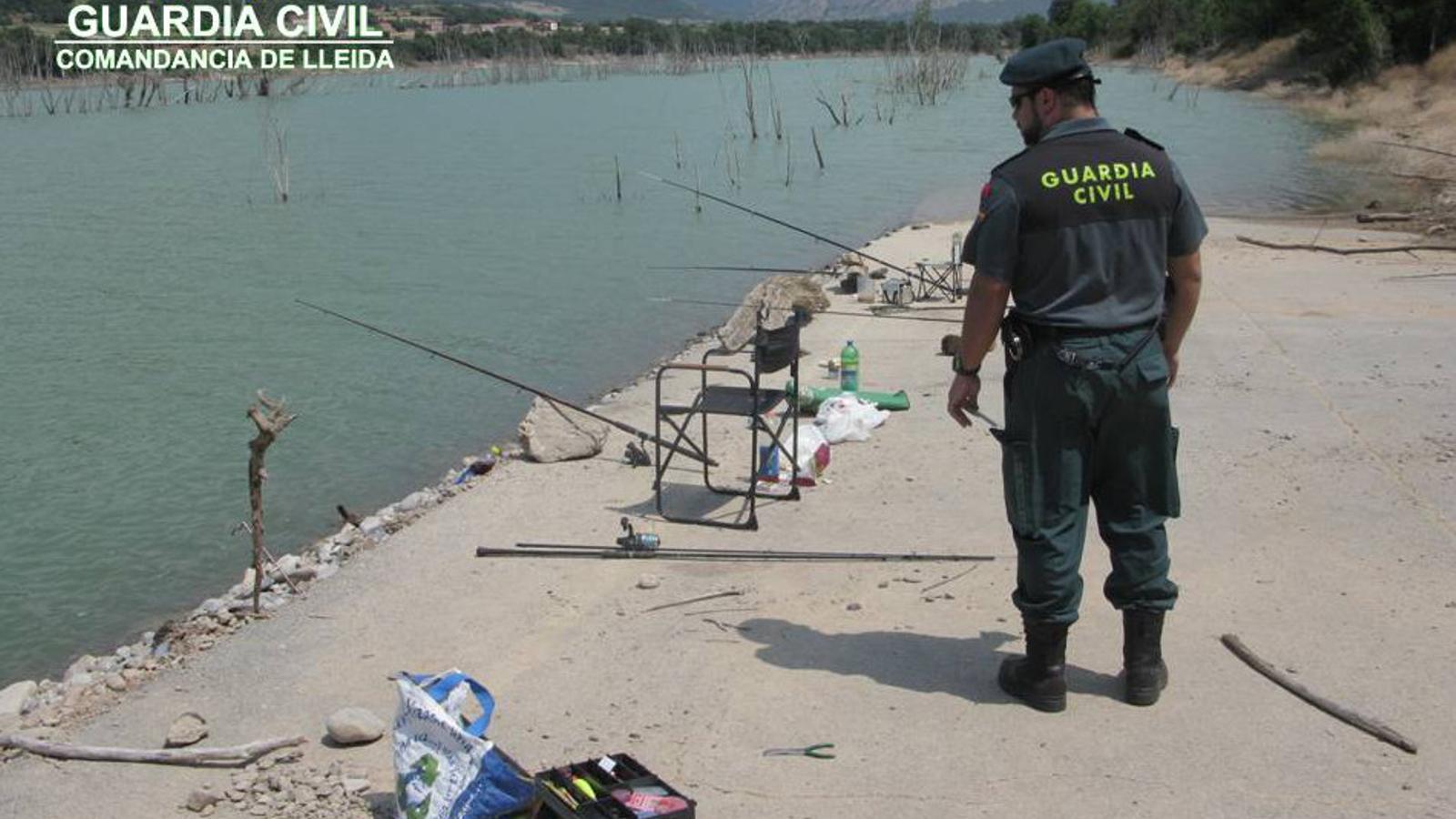 Denúncies a pescadors al Pirineu lleidatà