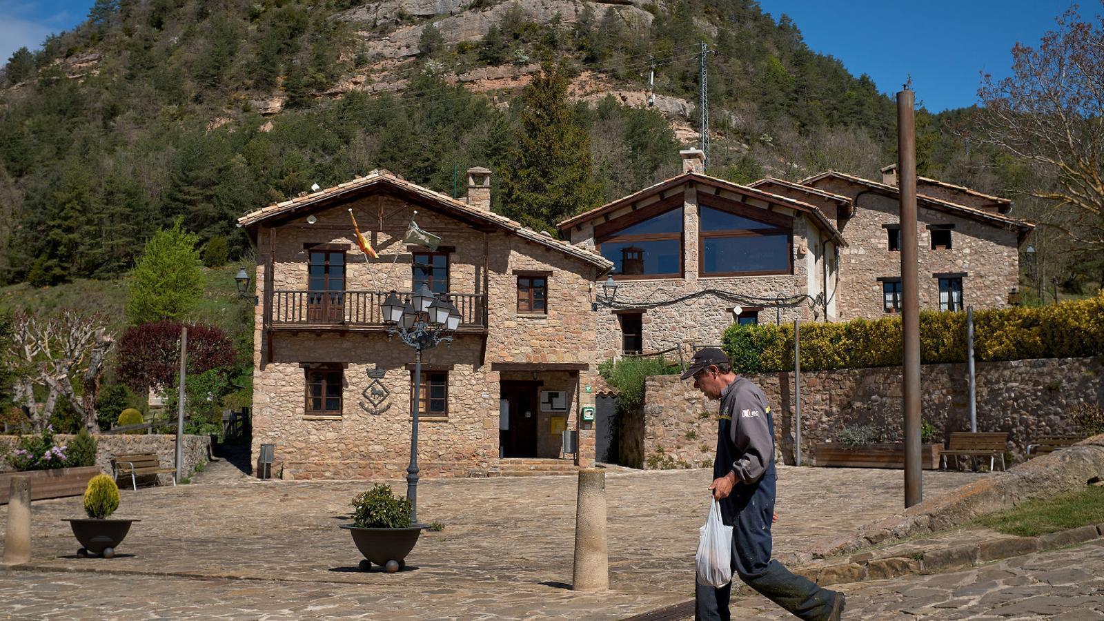 Sant Jaume de Frontanyà, el poble on no es nota el confinament