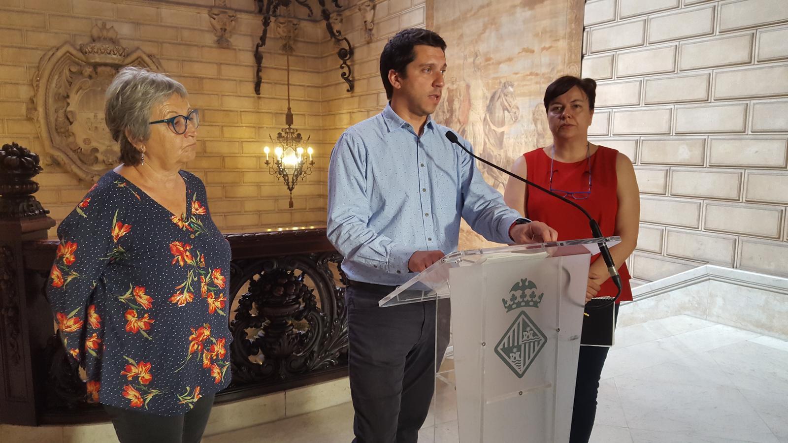 El regidor d'infraestructures de Palma, Rodrigo Andrés Romero