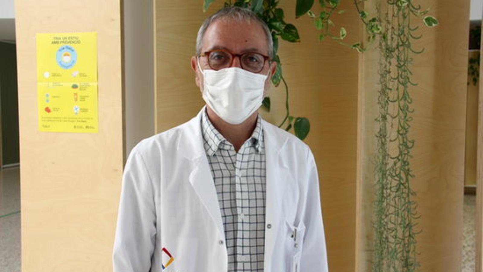 El director adjunt de l'Hospital de Cerdanya, Xavier Conill. / ACN