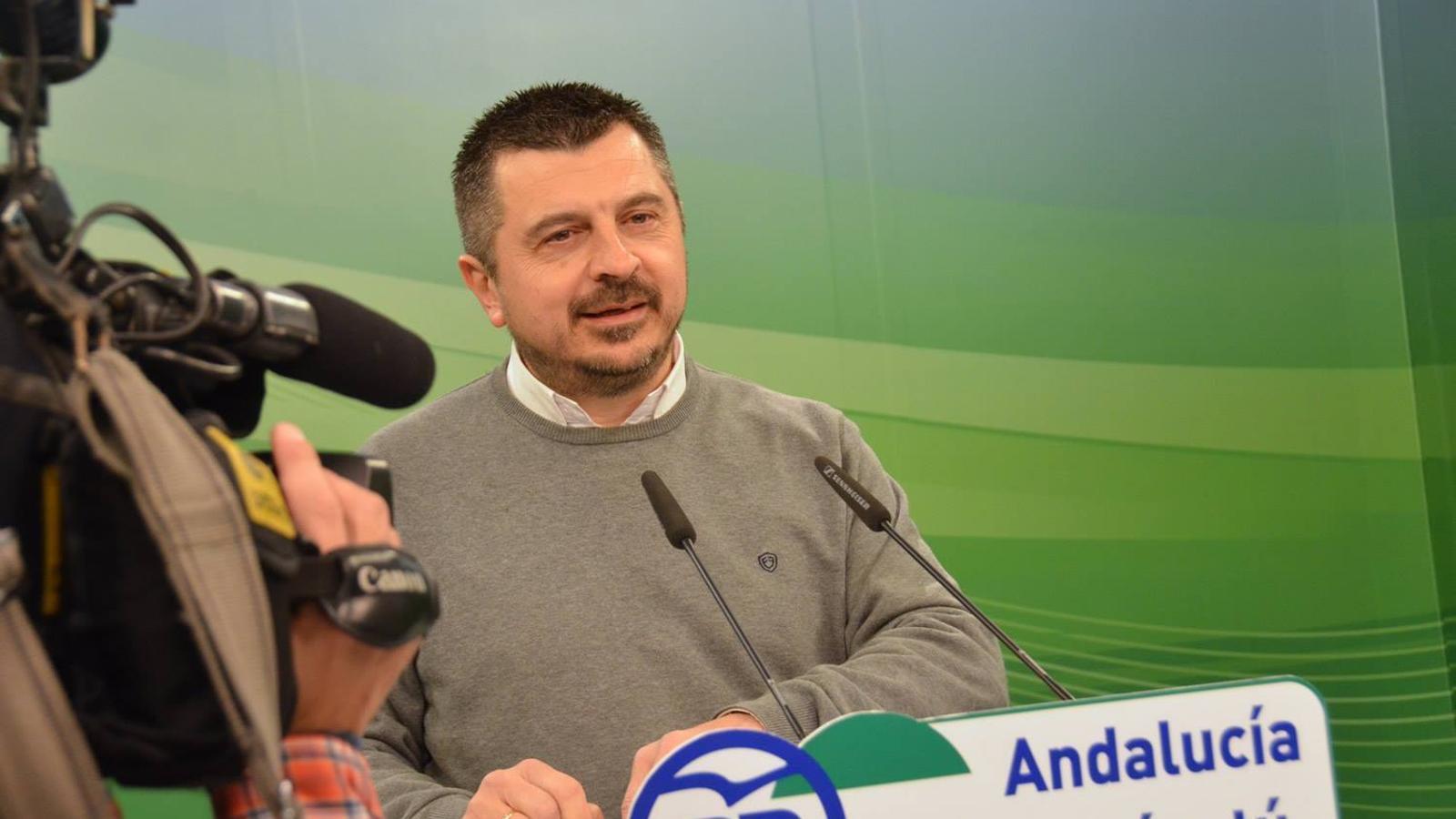 Toni Martín Iglesias, dirigent del PP d'Andalusia