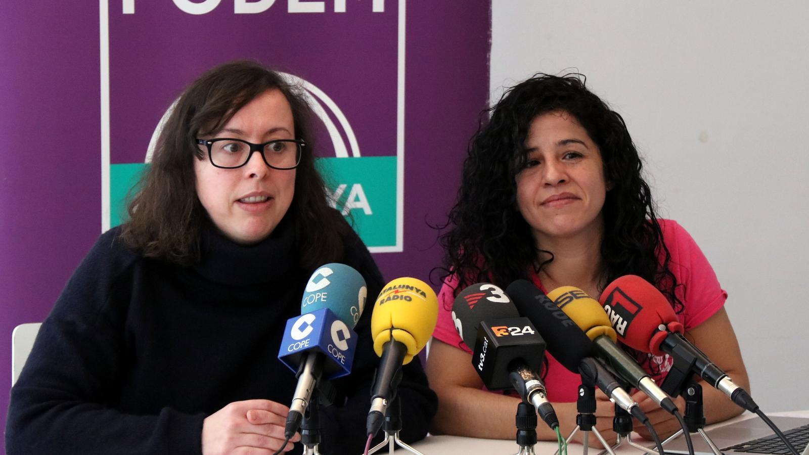 Noelia Bail (esquerra) i Ruth Moreta (dreta) en una imatge d'arxiu