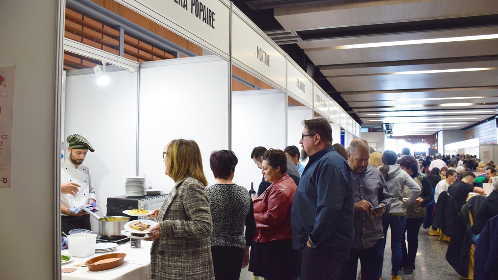 28a edició de la Mostra Gastronòmica d'Andorra. / T. N. (ANA)