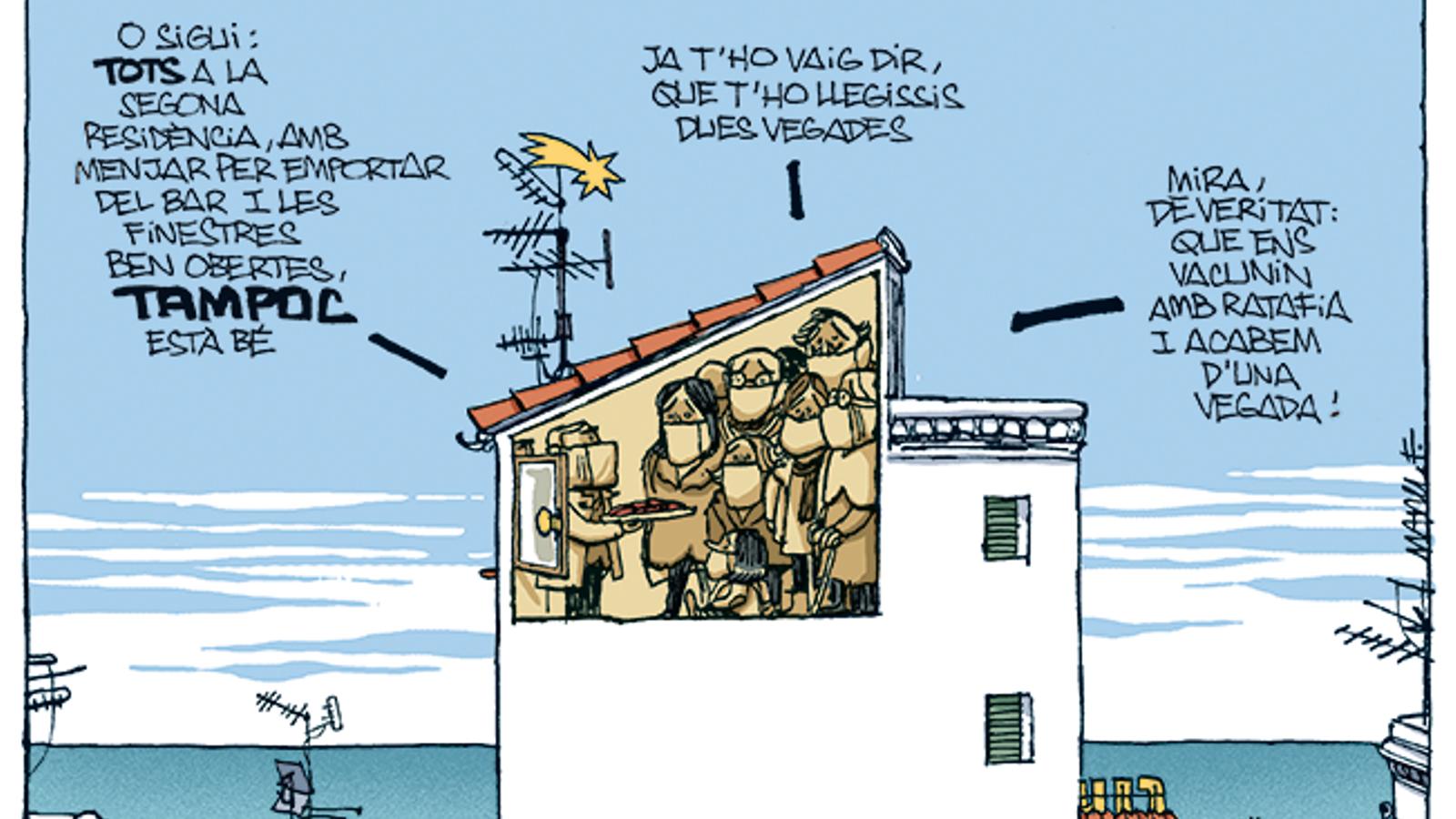 La vinyeta de Manel Fontdevila 20/12/2020