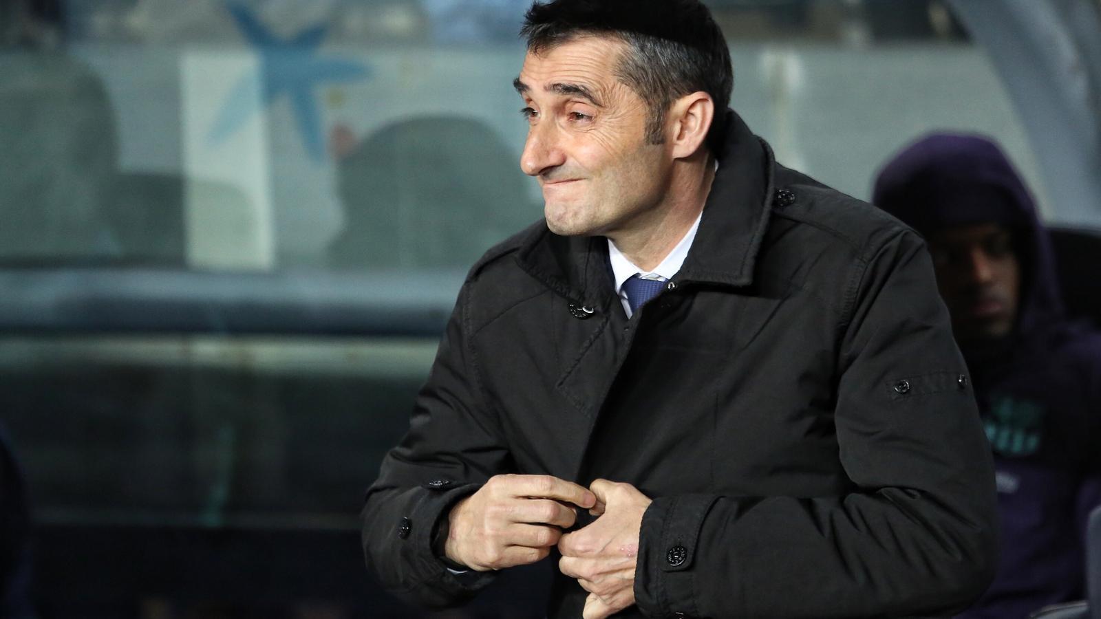 """Valverde: """"Som el Barça i, per respecte a la gent i al club, hem de lluitar per guanyar-ho tot"""""""