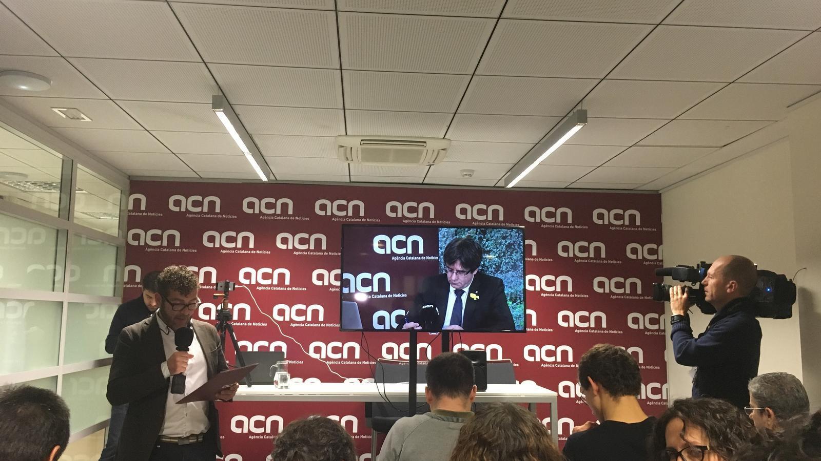 """Puigdemont promet tornar al Palau si guanya el 21-D i el bloc del 155 accepta el resultat: """"Que ningú en tingui cap dubte"""""""