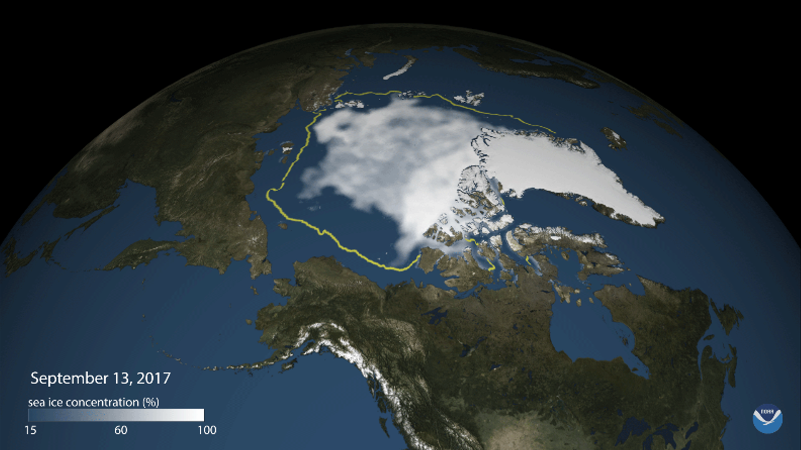 El vuitè any amb menys gel marí a l'Àrtic des del 1979