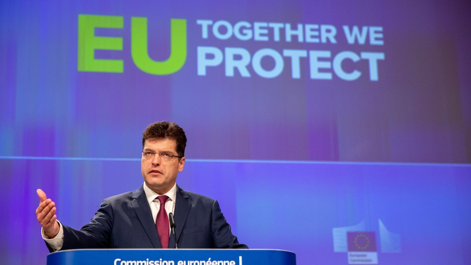 Brussel·les posa en marxa una reserva d'emergència de material mèdic
