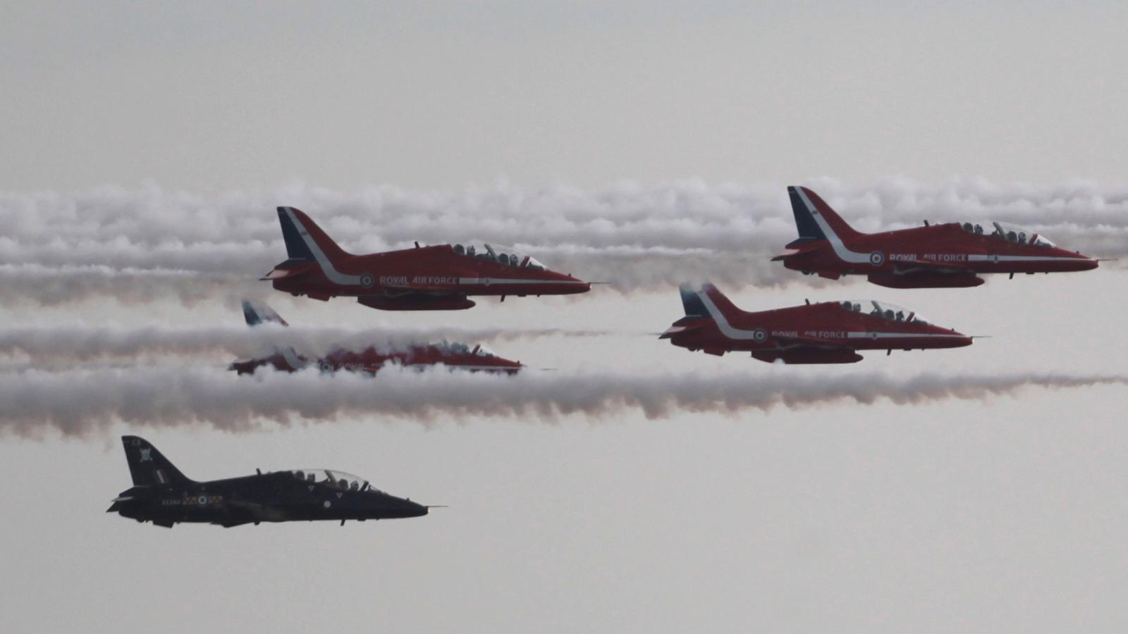Els avions anglesos preparen la seva ofensiva  / Getty