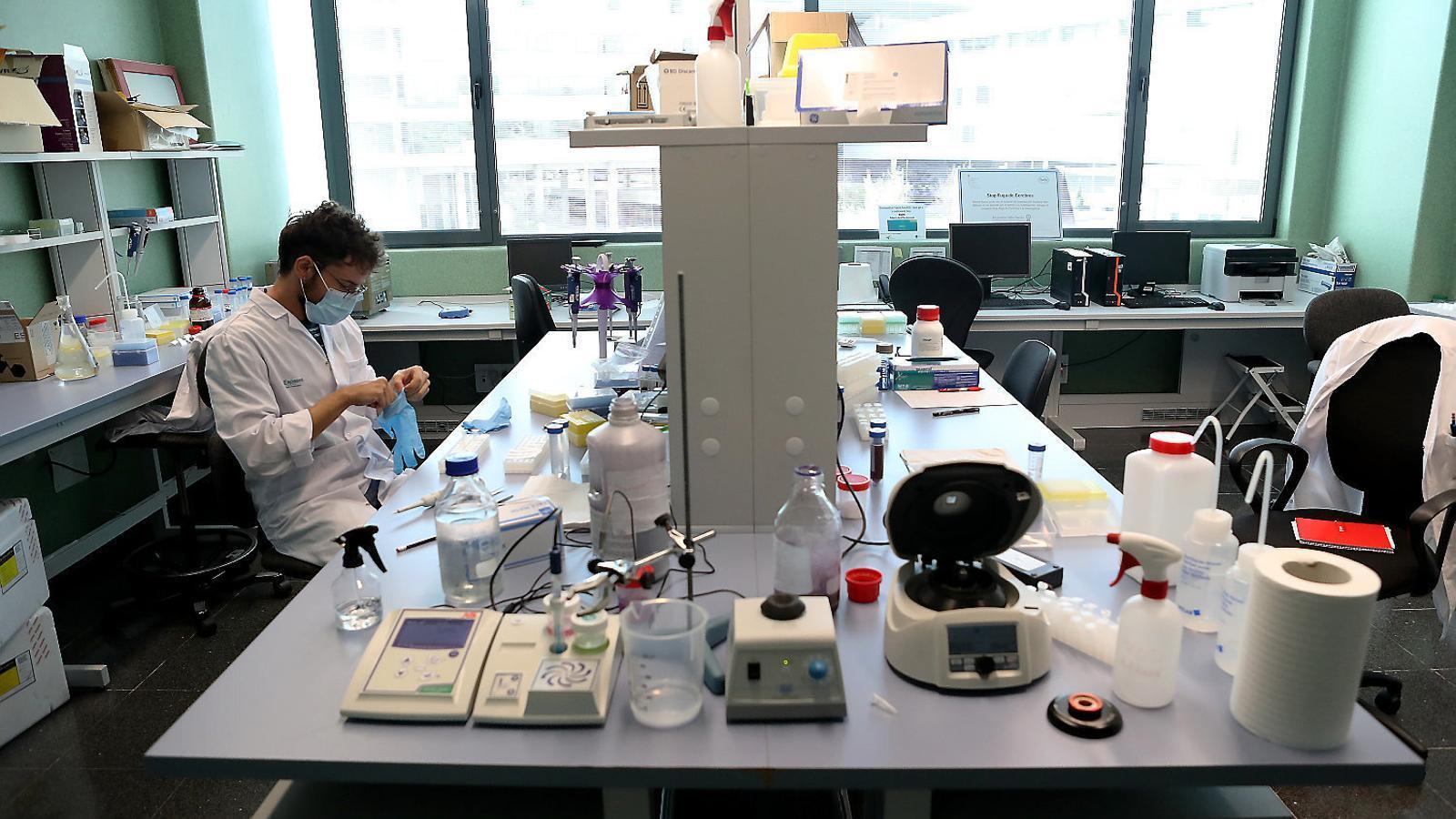 Una PCR per detectar                    el virus als espais tancats