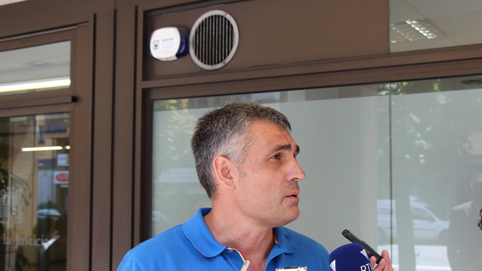 El president de Laika, Josep Mas. / M.J.