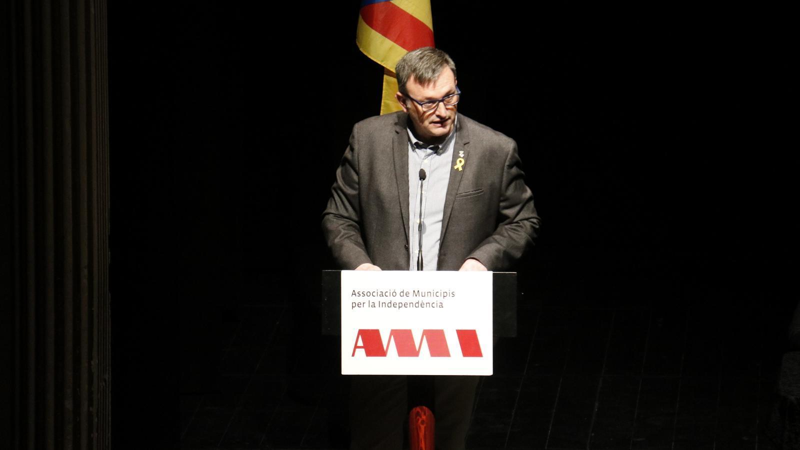 El nou president de l'AMI, Josep Maria Cervera