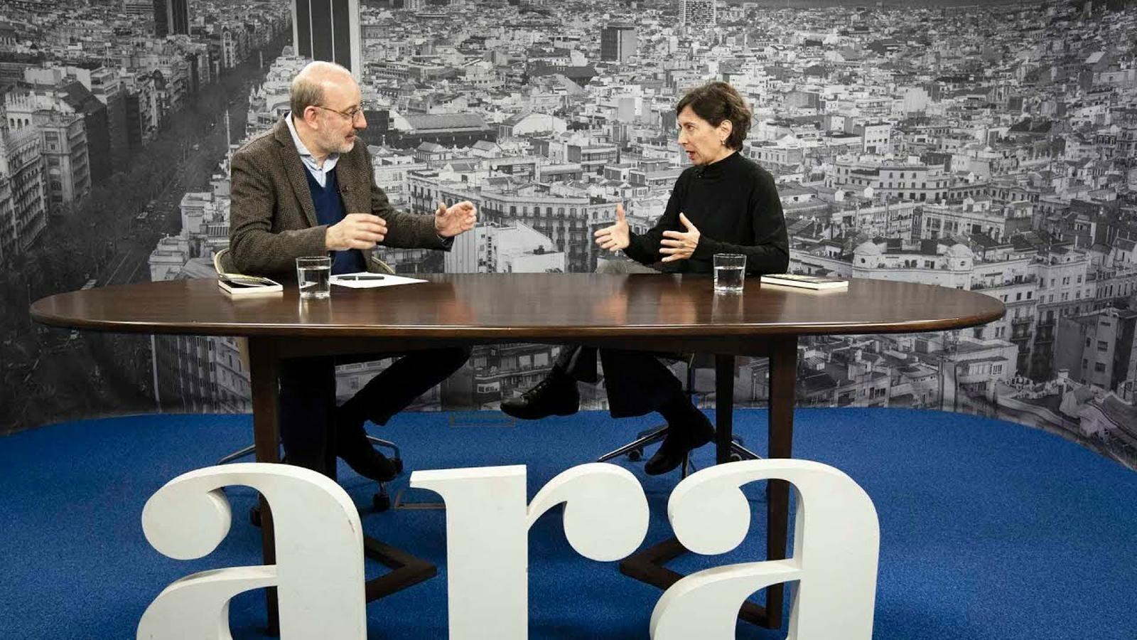 Entrevista d'Antoni Bassas a Simona Levi