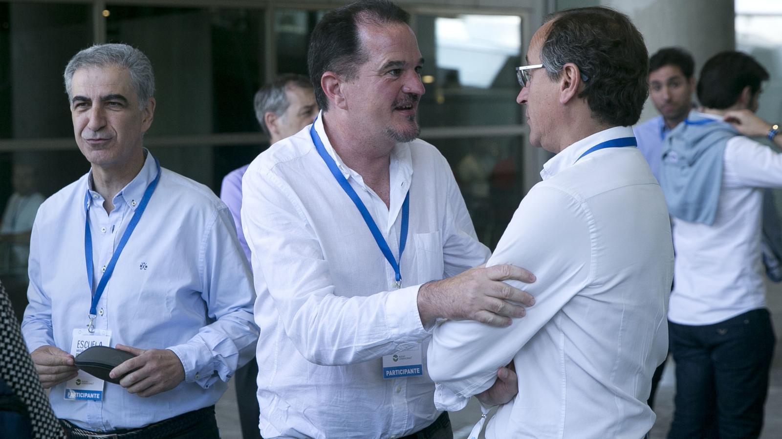 Carlos Iturgaiz i Alfonso Alonso en una imatge d'arxiu