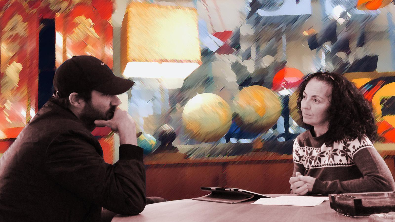 """Julià Panadès Julià : """"Amb l'art es pot parlar de moltes coses que no tenen a veure amb l'art"""""""
