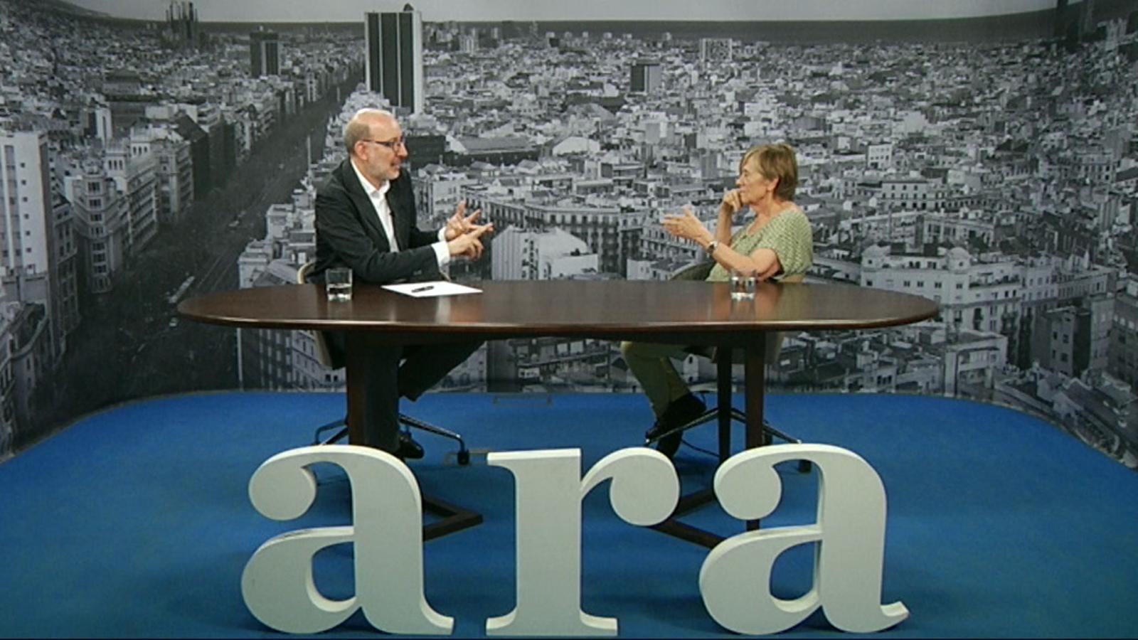 Entrevista d'Antoni Bassas a Maria Jesús Comellas