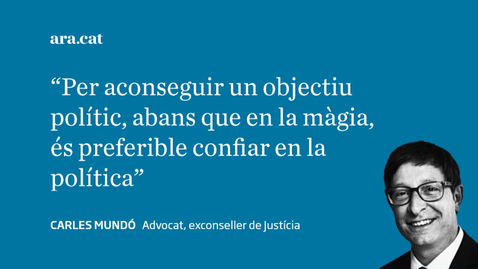 'S'ha acabat la màgia', article de Carles Mundó
