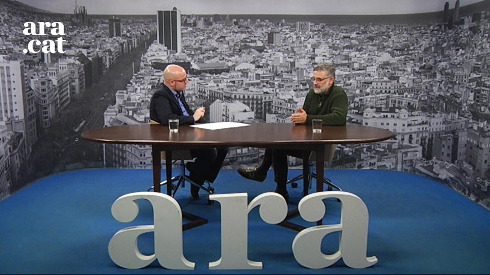 Entrevista de David Miró a Carles Riera