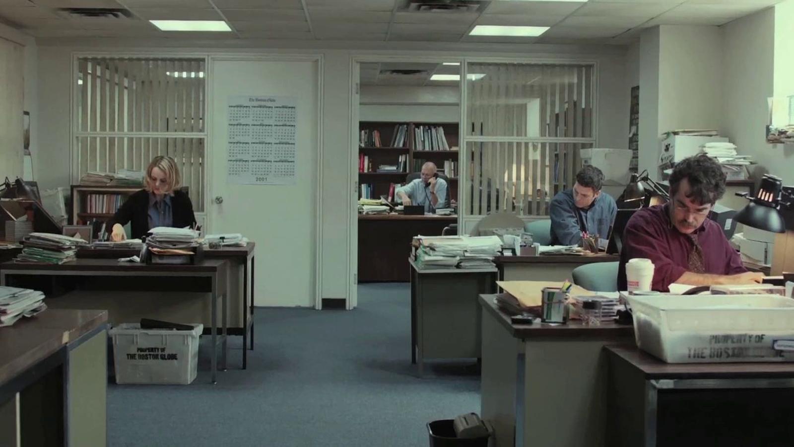 Videocrítica de 'Spotlight', una lliçó de periodisme favorita als Oscars