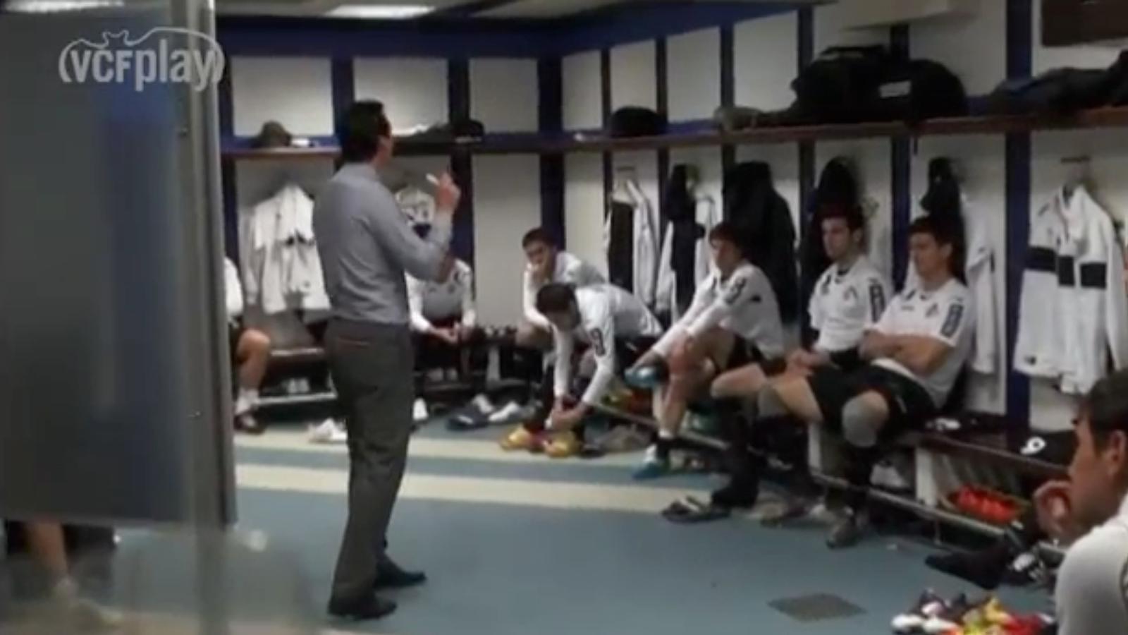 Així va motivar Unai Emery els futbolistes del València al Bernabéu