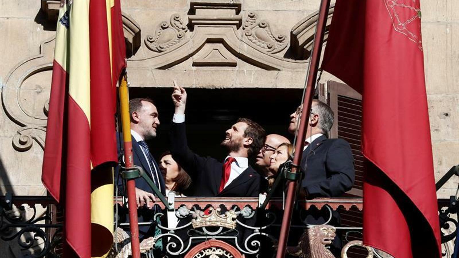 El PP i Cs situen Navarra com el principal obstacle per pactar amb el PSOE després del 10-N