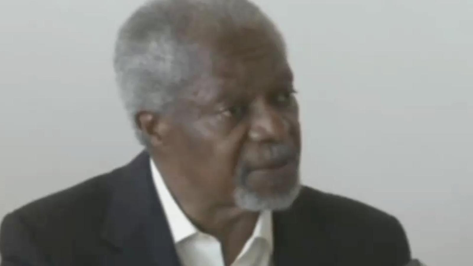 Kofi Annan visita els refugiats sirians de Turquia i demana la fi de la violència