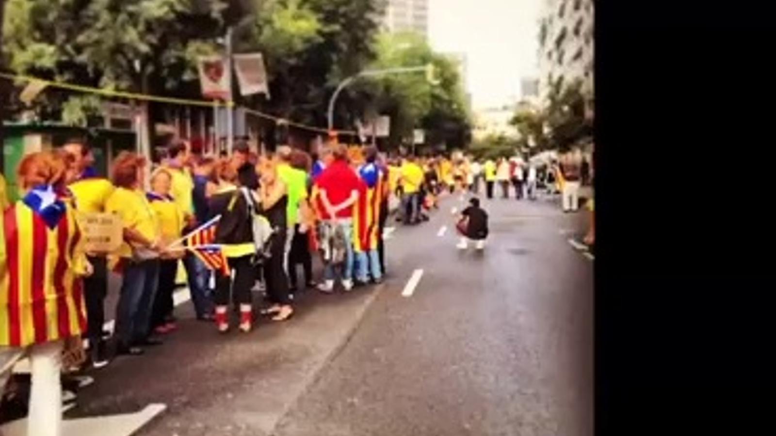 La Via Catalana vista pels instagramers