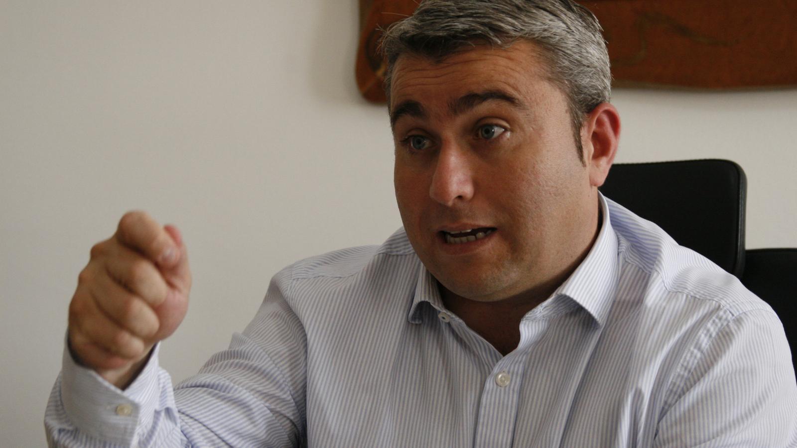El batle, Virgilio Moreno, creu que l'Ajuntament s'ha de mullar ja, amb el tema de la ronda.