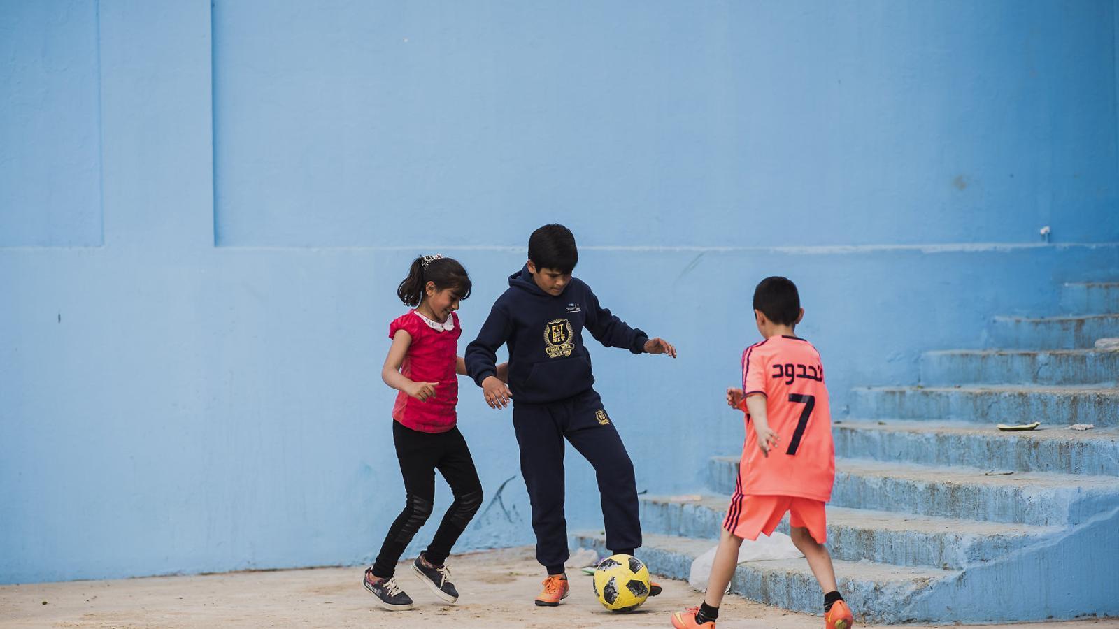 El Barça fa gala del seu programa de refugiats