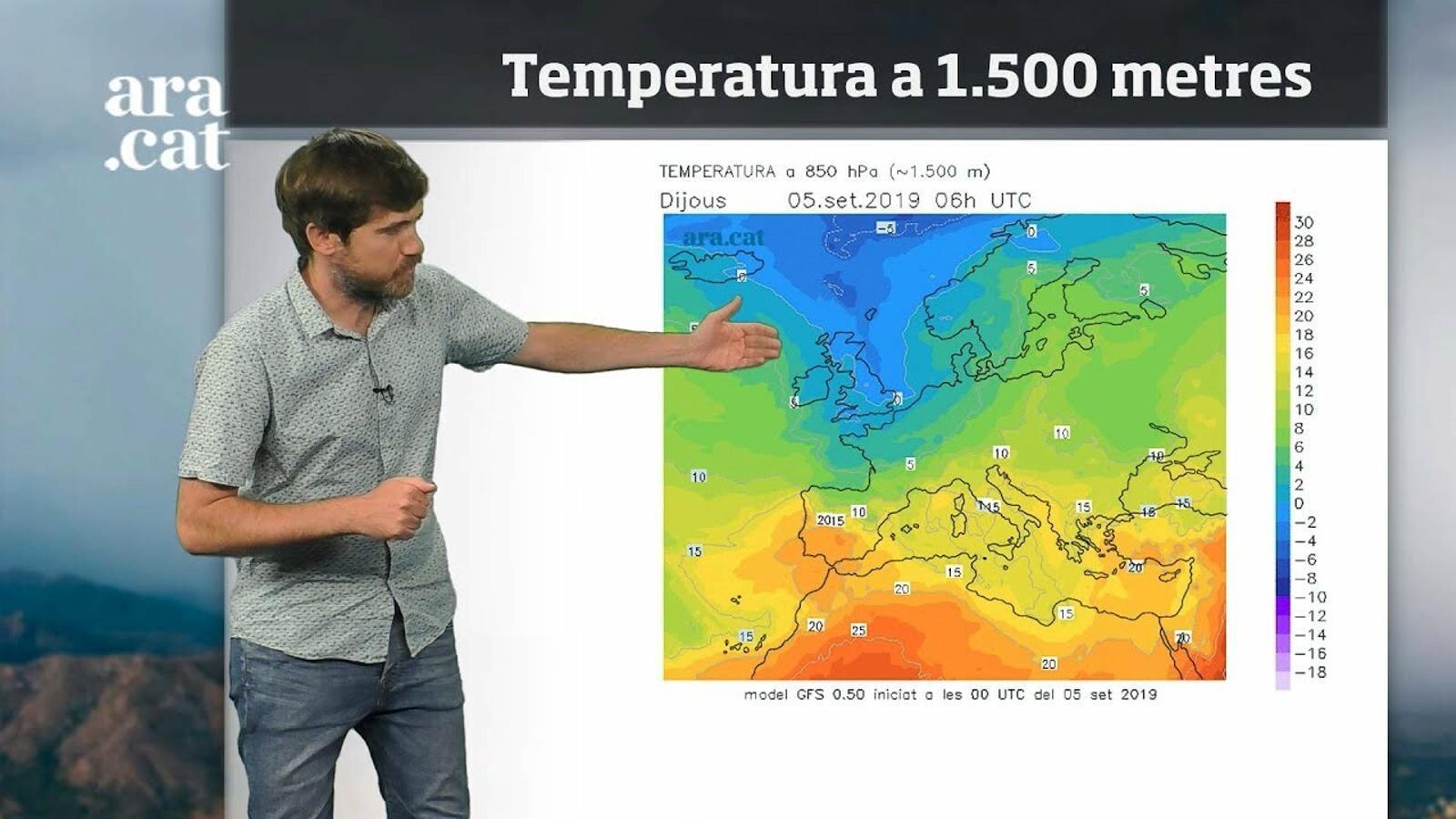 La méteo en 1 minut: setmana amb ambient de final d'estiu