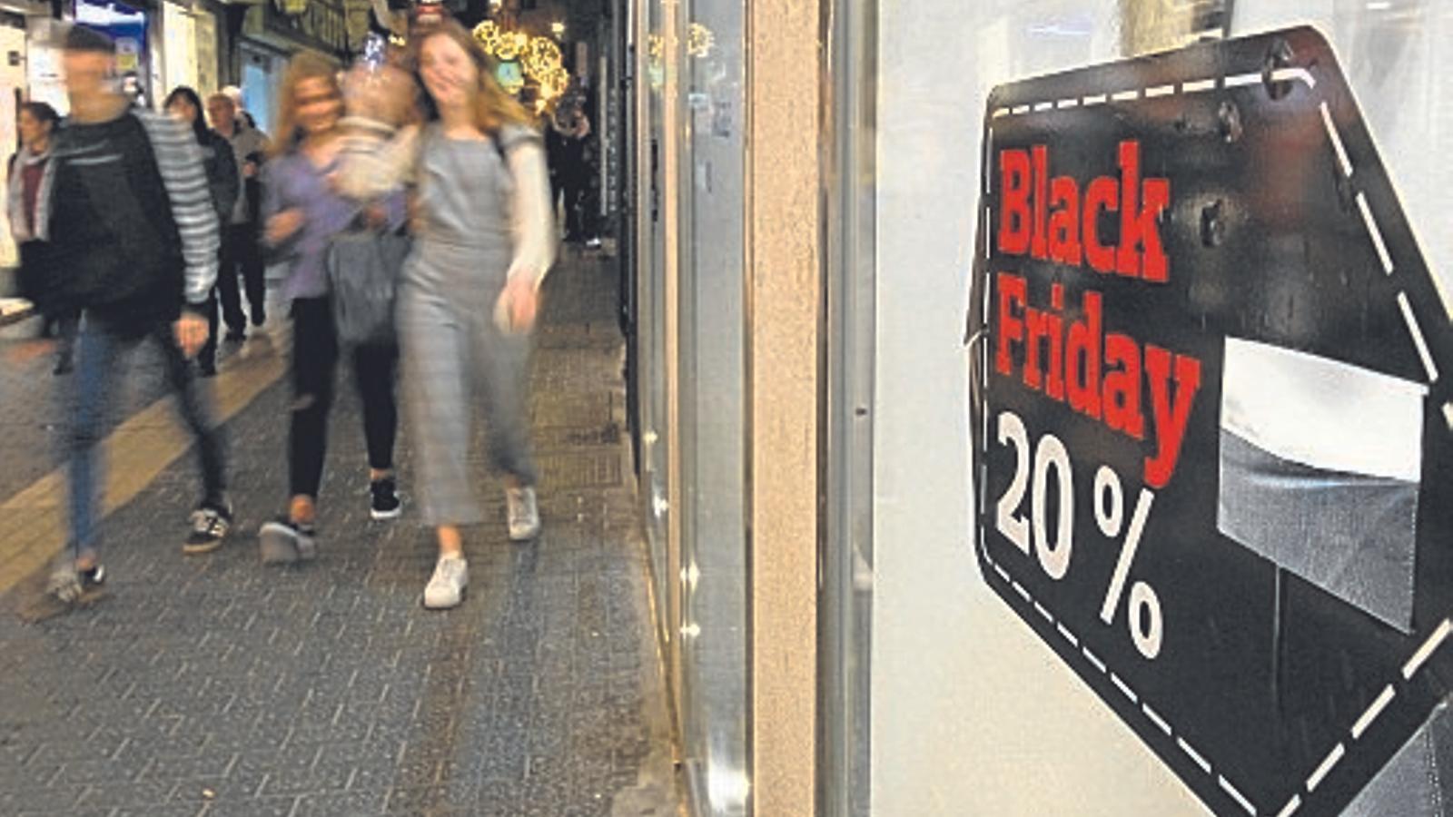 'Un divendres negre'. / ISAAC BUJ