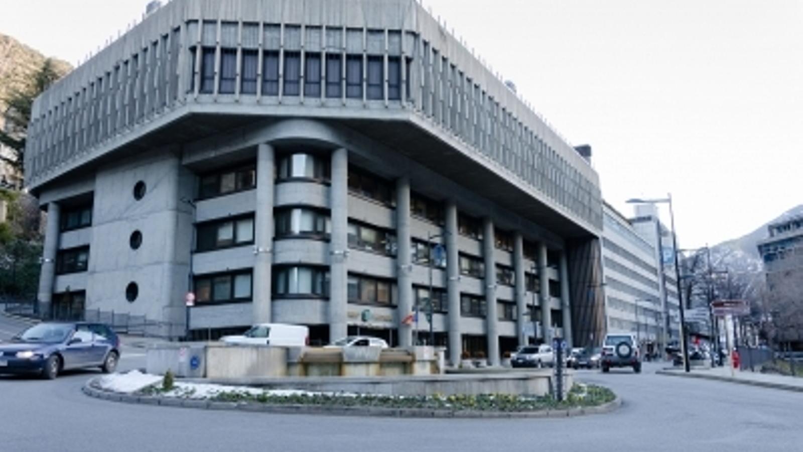 L'edifici administratiu del Govern. / ARXIU