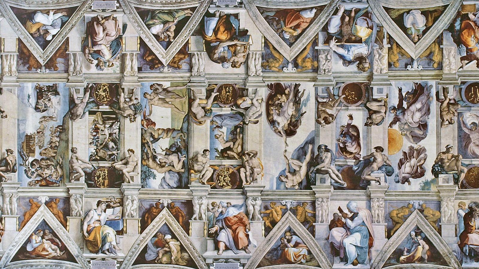 El sostre de la capella Sixtina