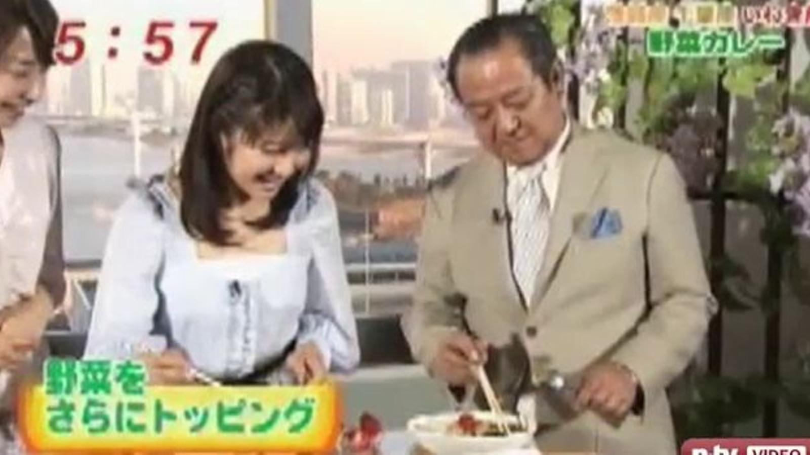 Un presentador de la televisió japonesa, amb leucèmia després de menjar verdures de Fukushima