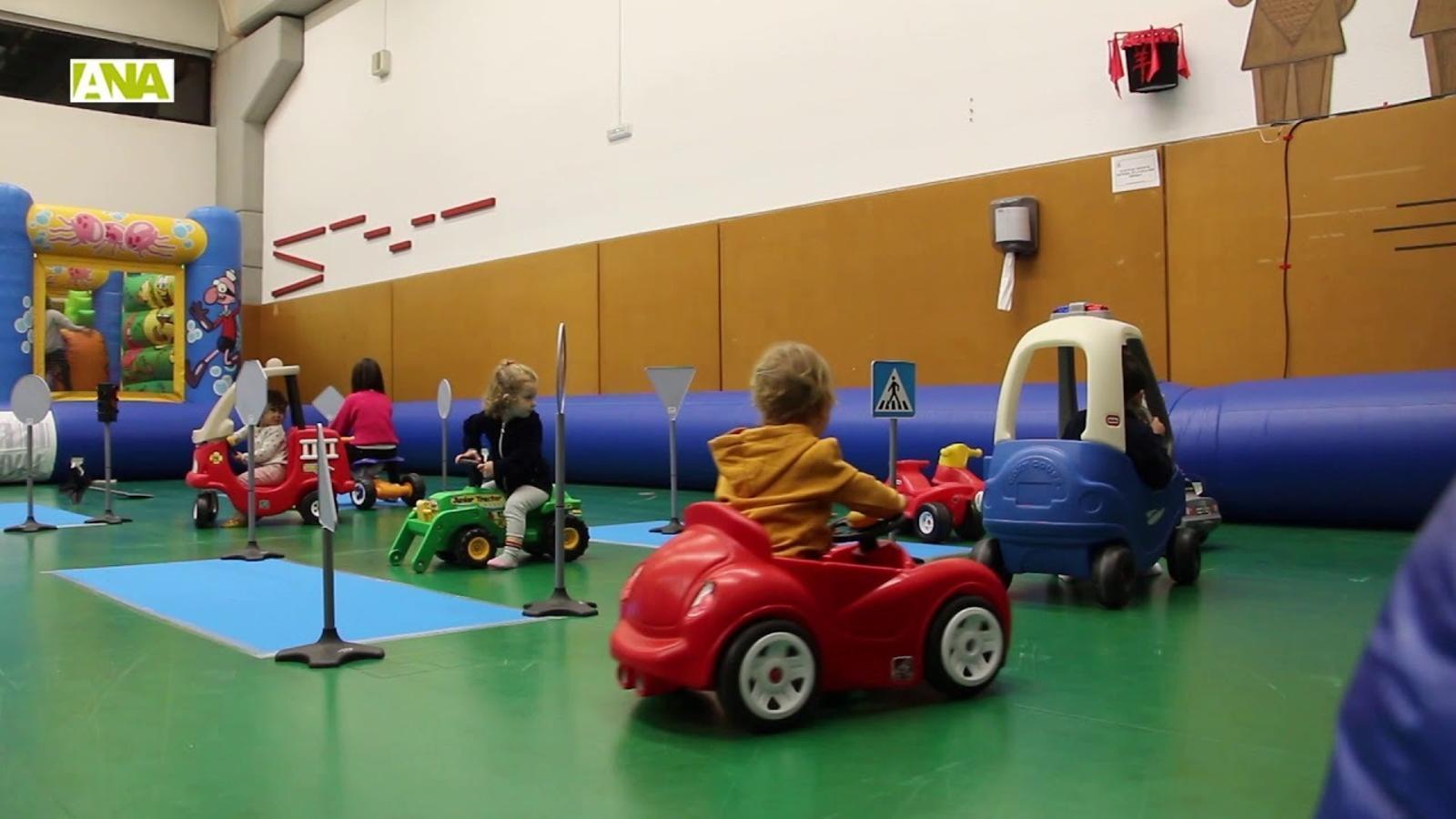 Riures, diversió i valors en el Saló de la Infància d'Encamp