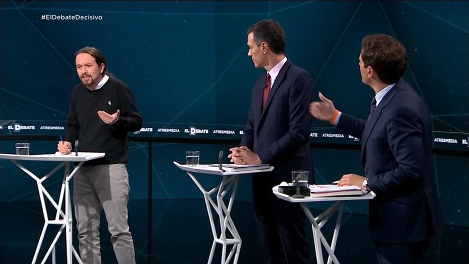 """Iglesias a Rivera: """"Vostè és un impertinent i un maleducat"""""""