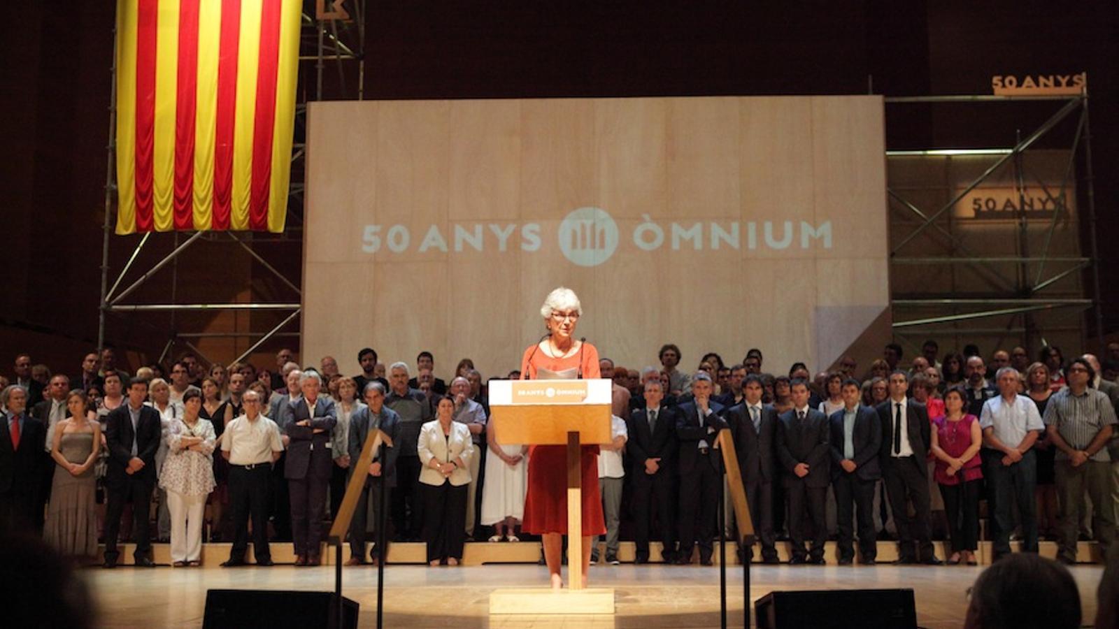 L'acte de celebració del 50è aniversari d'Òmnium Cultural / SCOTT CHASSEROT