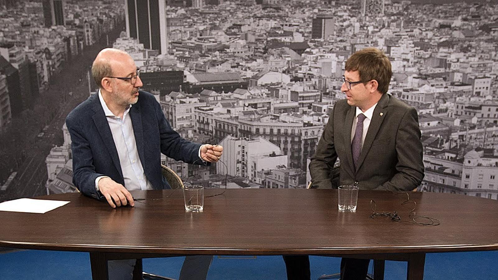 Entrevista d'Antoni Bassas a Carles Mundó