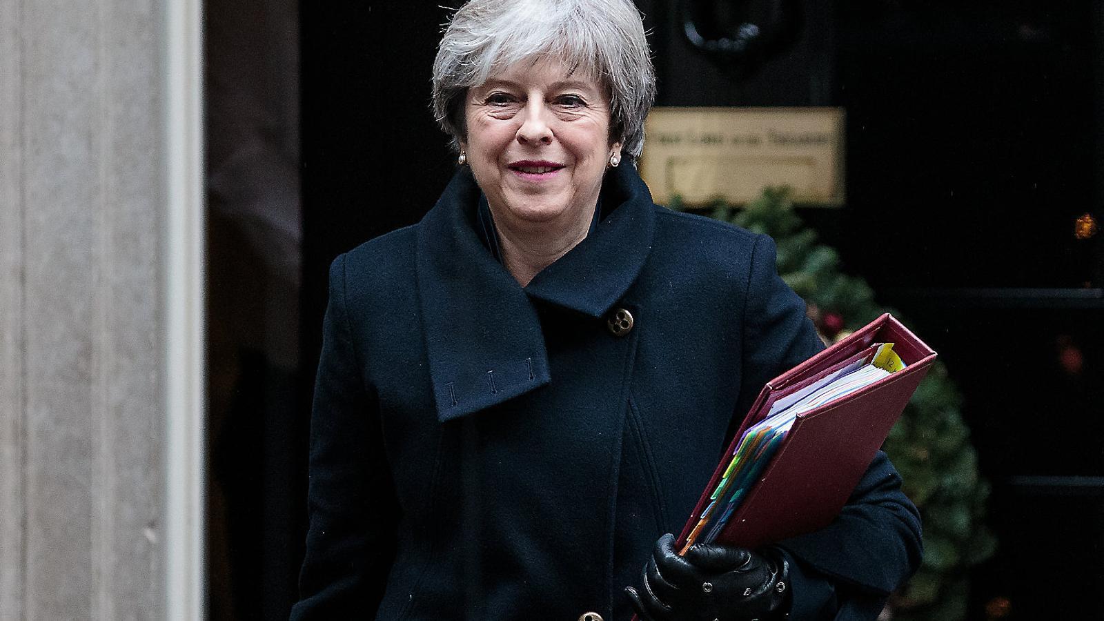 Theresa May perd el control sobre el Brexit