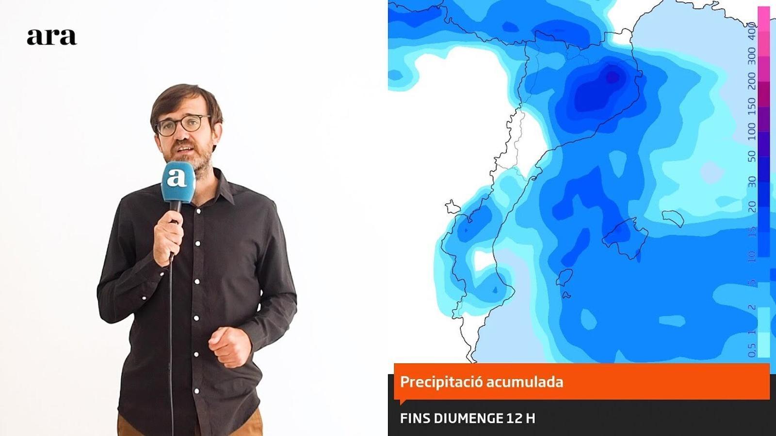 La méteo: tongada de tempestes, fred i tramuntana
