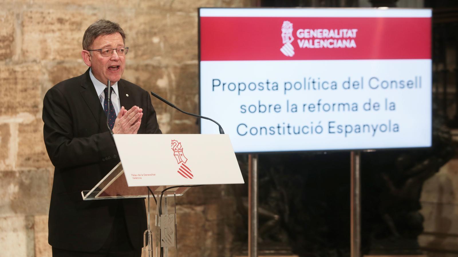 La Generalitat Valenciana impulsa una reforma federal