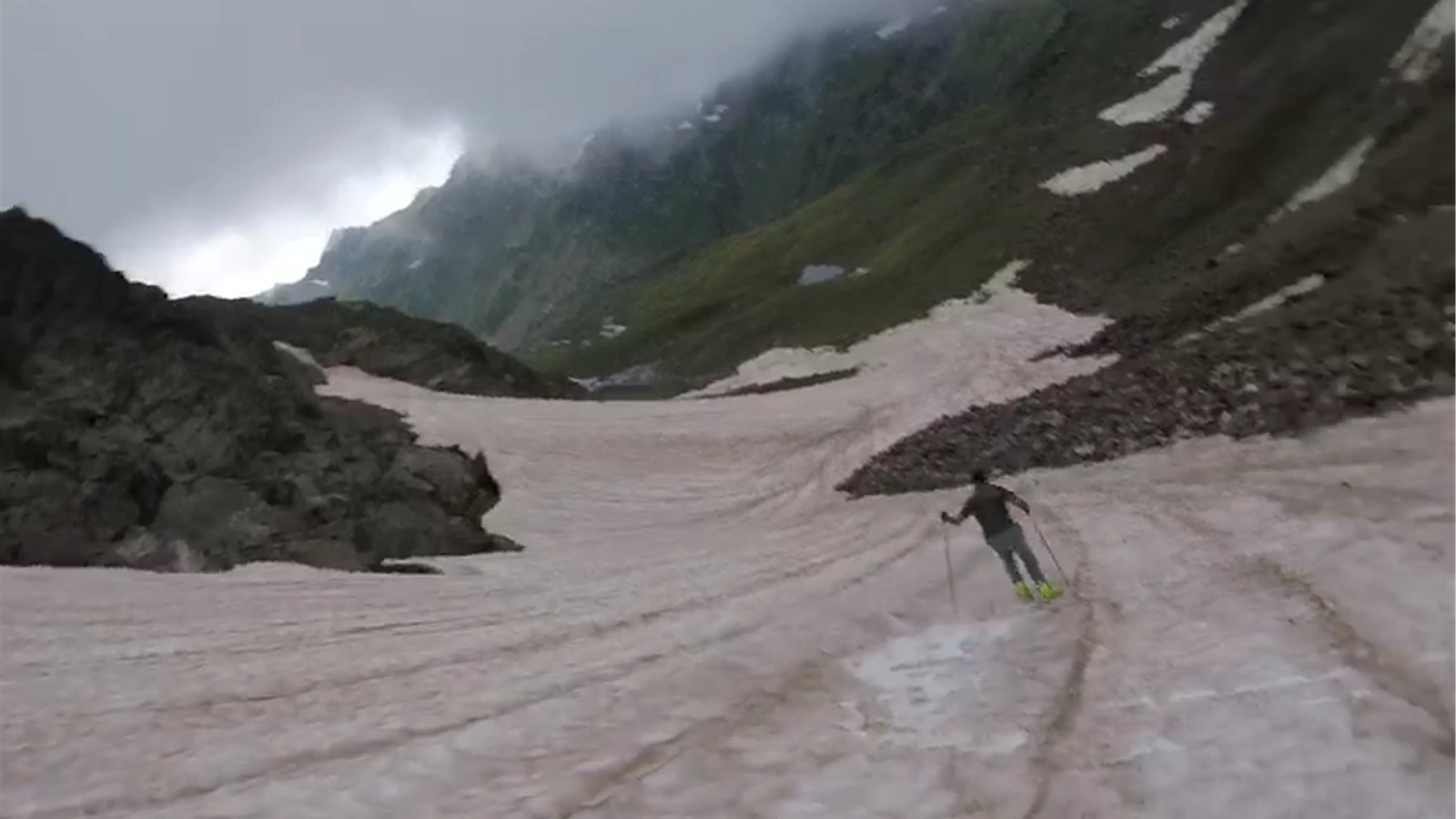 Què fem a l'estiu? Esquiar a Tristaina