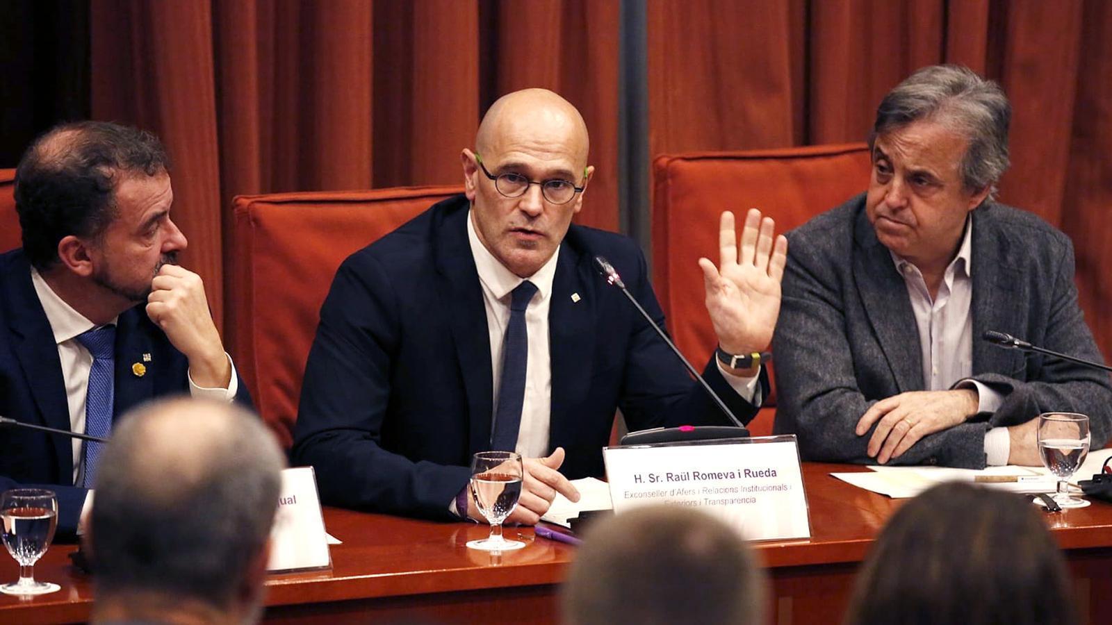 """Romeva: """"El 155 és el major error que s'hagi fet en política en època democràtica"""""""