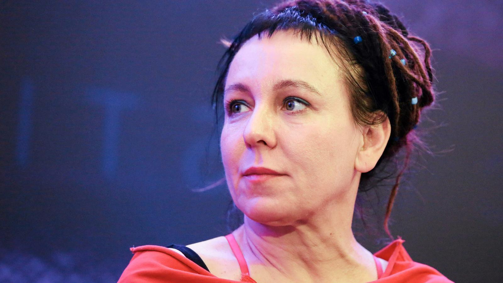 L'escriptora Olga Tokarczuk
