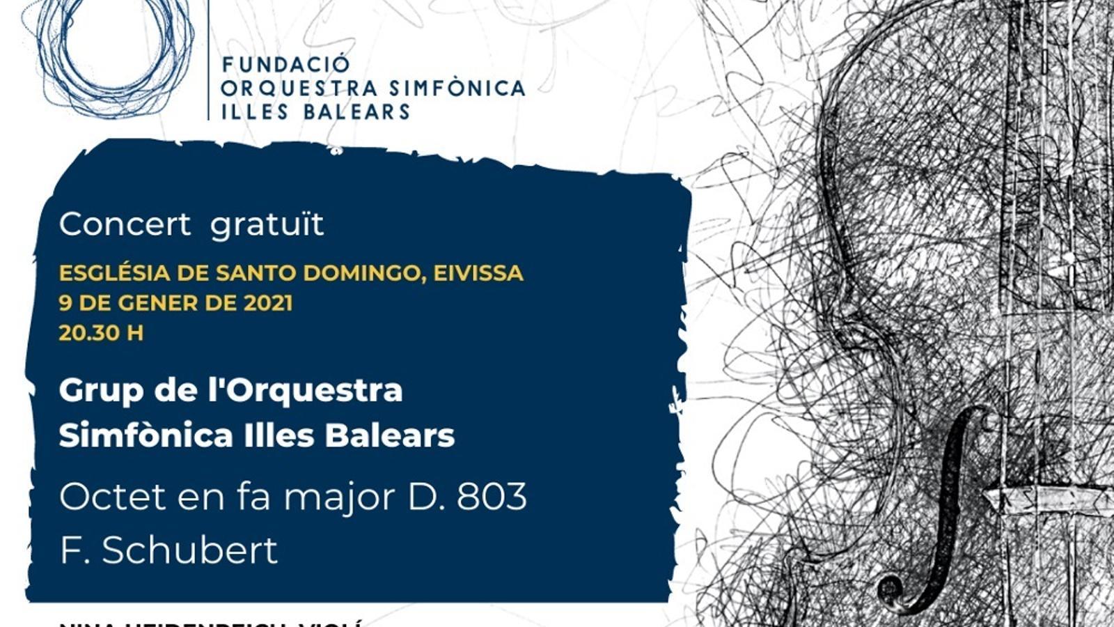La Simfònica ofereix dos concerts en petit format a Campanet i Sant Domingo