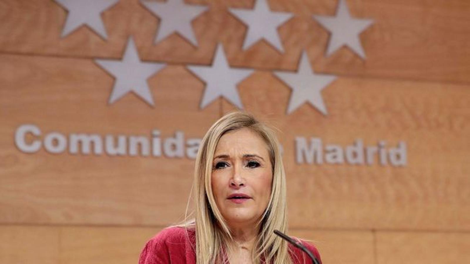 Un error de Cristina Cifuentes a l'hora de votar tomba el seu propi projecte de llei d'universitats
