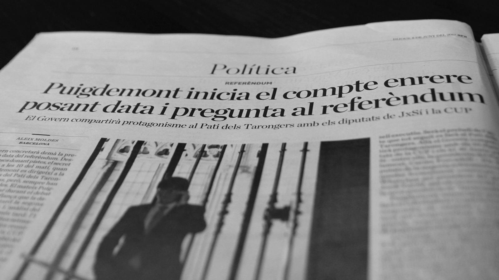 L'anàlisi d'Antoni Bassas: 'Vol que Catalunya esdevingui un estat independent en forma de república?'