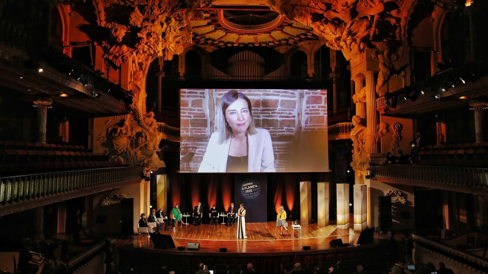 Sandra Barneda és finalista al Premi Planeta